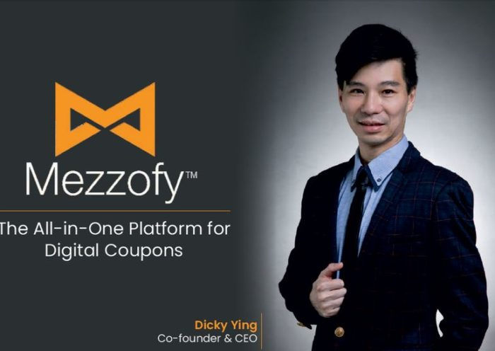 Dicky Ying - Co-founder - Mezzofy - The All-in-One Platform for Digital Coupons