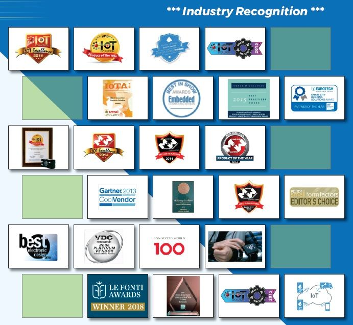 Eurotech-Industry Recognition