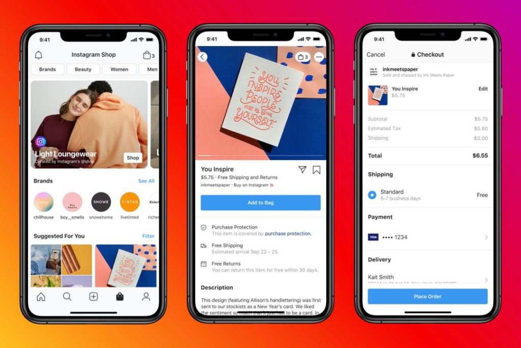 Instagram Shop A New Place to Discover Products and Brands 2