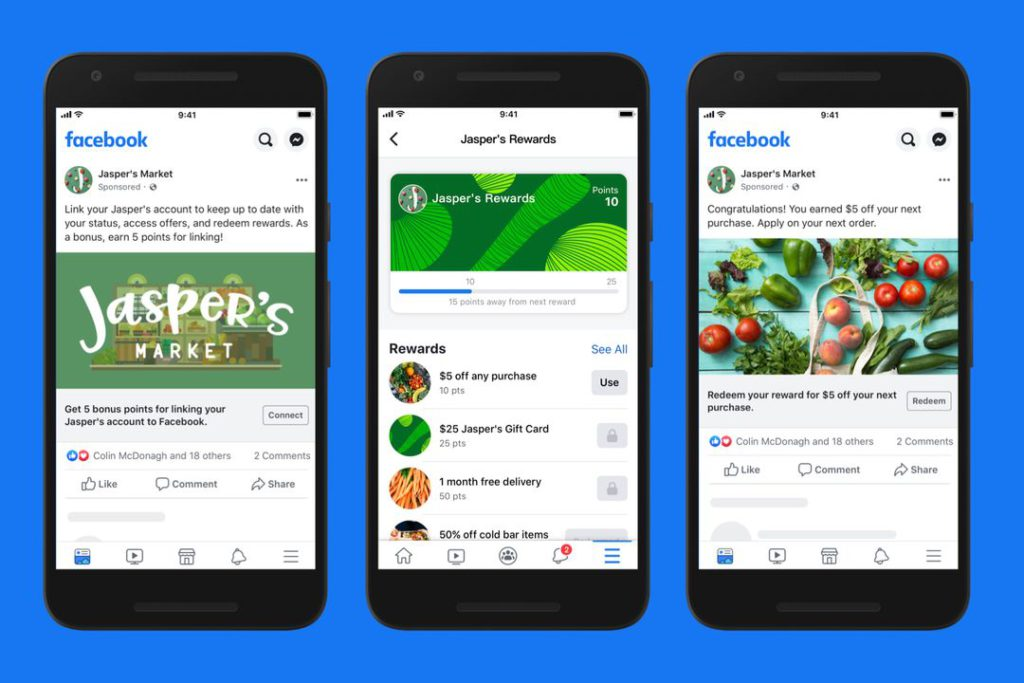 fb Connecting Loyalty Programs to Your Facebook Account