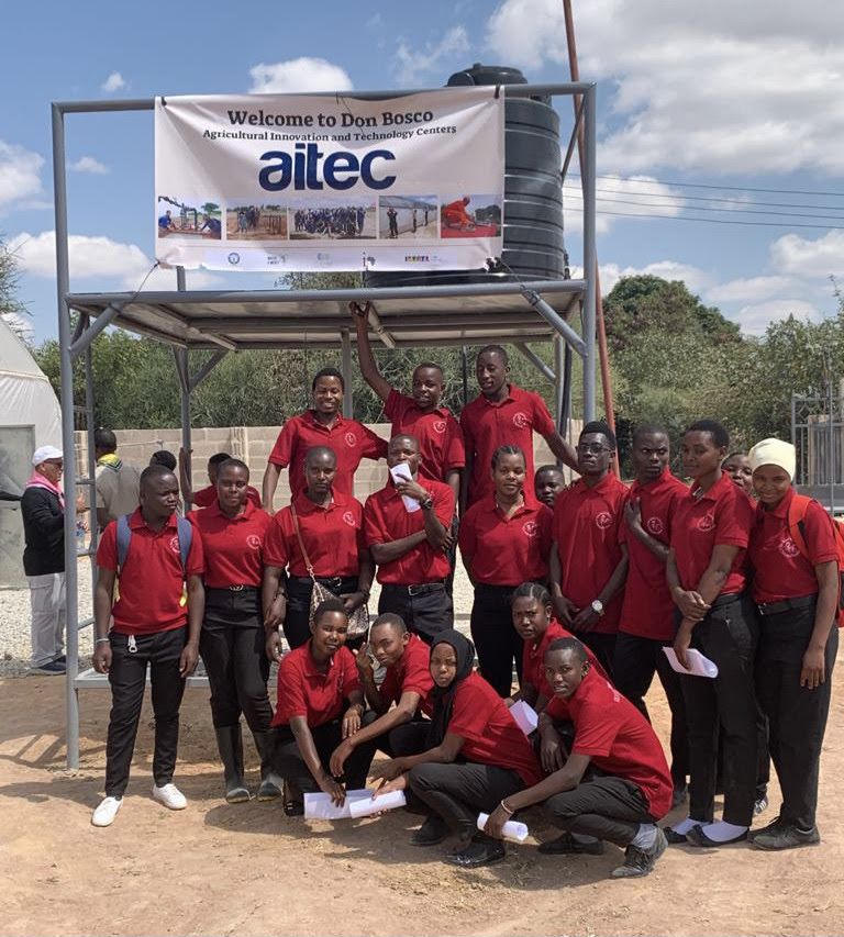 Students at the AITeC Dodoma - Water 4 Mercy